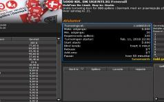 nsodense vinder 5000 kr. freeroll turnering #15 hos 888poker.dk